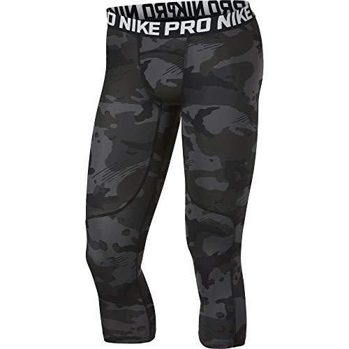 NIKE Pro Mallas, Hombre, Black/White, XL