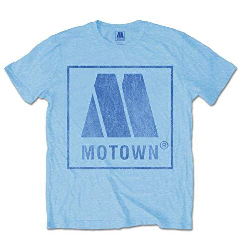 Motown Vintage Logo - T-shirt - Homme, Bleu, Small