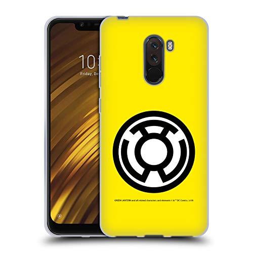 Head Case Designs Offizielle Green Lantern DC Comics Sinestro Laterne Korps Soft Gel Huelle kompatibel mit Xiaomi Pocophone F1 / Poco F1
