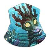best& Bandana multifuncional para la cabeza de acuario del Pacífico, sin costuras, con tubo elástico para la cabeza, pasamontañas, máscara facial UV, residencia para yoga, correr, senderismo, ciclismo