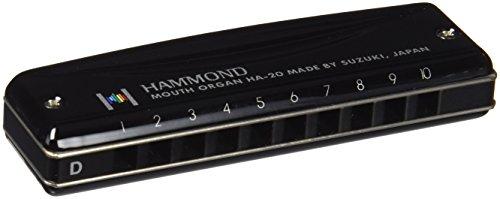 HAMMONDハモンド10穴ハーモニカHAMMONDHA-20D調