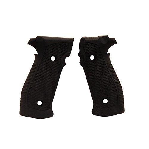 Hogue 23139 Sig P226 Grips, Da/SA Magrip Pirahna G10 Solid Black