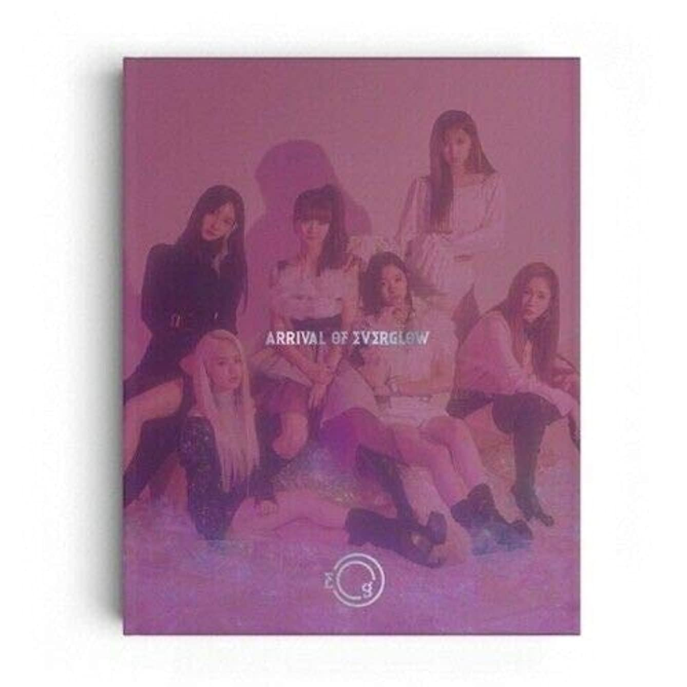 Everglow - [Arrival of Everglow] Debut Album CD+68p PhotoBook+1p Post+2p Sticker+1p PhotoCard+Tracking K-POP Sealed
