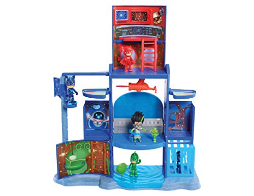 PJ Masks Mission Control HQ Playset, Multicolore, 95256
