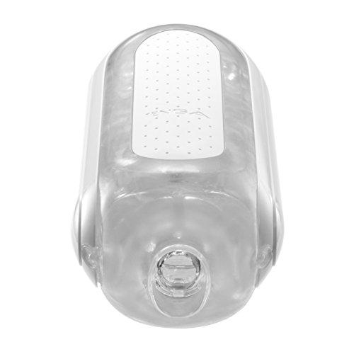 TENGA FLIP ZERO, masturbateur haut de gamme pour homme réutilisable - Blanc (version douce), conception flip-open, facile à nettoyer