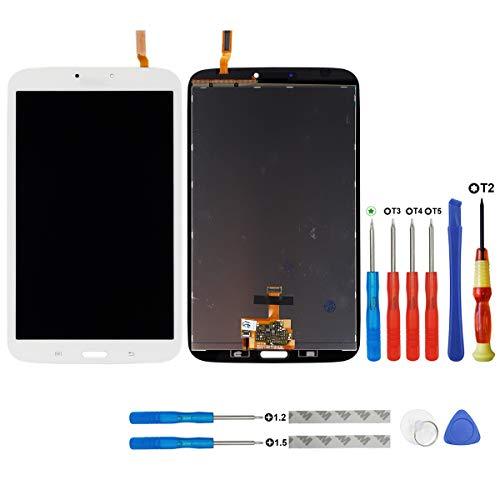 swark - Display LCD compatibile con Samsung Galaxy Tab 3 SM-T310, colore: Bianco