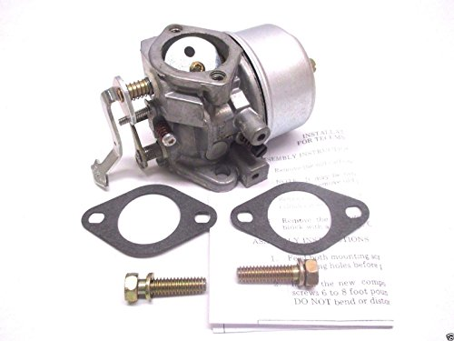Tecumseh 631304B Lawn & Garden Equipment Engine Carburetor Genuine Original Equipment Manufacturer (OEM) Part