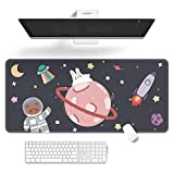 Mouse Pad,Cartoons Cute Keyboard Pad,Large Kawaii Gaming Mousepad with Non-Slip Rubber Base,Durable Stitched Edges Waterproof Mat,32