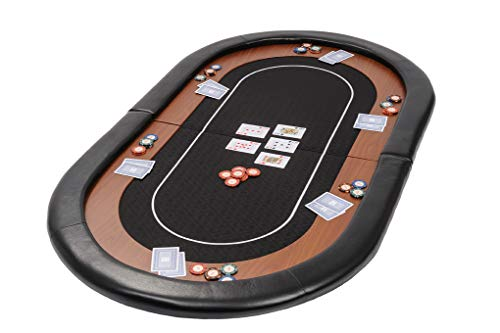 Riverboat Gaming Champion Tablero de póquer Plegable - Mesa de Poker en...