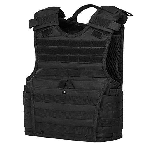 "ATG Tactical Expert Vest 11""X14"" MOLLE and PALS Fully Adjustable Law Enforcement (Black)"