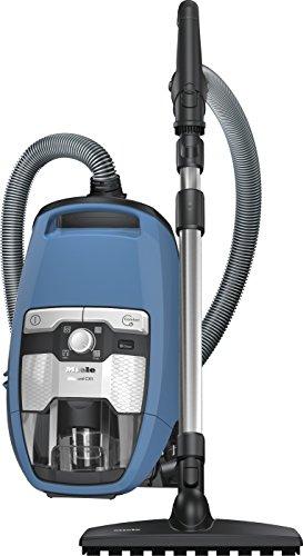 Miele SKCP3 Blizzard CX1 Parquet EcoLine - Aspirapolvere a traino senza sacchetto con spazzola parquet 550 watts, 2 litri, Blu (Blu Tecno)