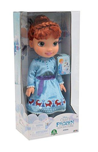 Giochi Preziosi Frozen Bambola Anna, Abito in Versione Holiday, FRN54100
