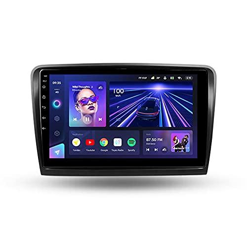 ADMLZQQ CC3 Android 10 Car Stereo para Coche Multimedia Navegación GPS para Skoda Superb 2 B6 2008-2015 DSP Carplay Manos Libres FM USB Controles del Volante Cámara Trasera,8core 4g+wif: 3+ 32g