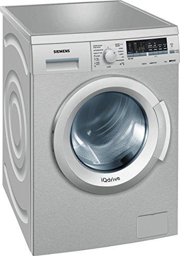 Siemens WM12Q48XES - Lavadora De Carga Frontal Wm12Q48Xes De 8 Kg Y 1.200 Rpm