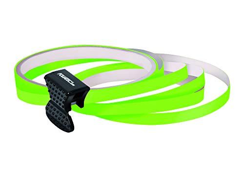 Foliatec PIN Striping Felgendesign Inkl. Montagetool - neon grün 4 - Streifen 6mmx2,15meter & 1 Testrolle 6mmx40cm