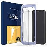 【Caseology】 iPhone 12 / iPhone 12 Pro ガラスフィルム (2枚入) ガイド枠 iPhone12Pro iPhone12Max 保護フィルム 高透過率 互換性 強化ガラス
