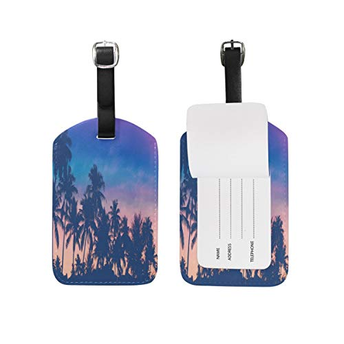 Fantastic Sunny Mountain Boat Luggage Tags Travel Bag Tag Suitcase 1 Piece