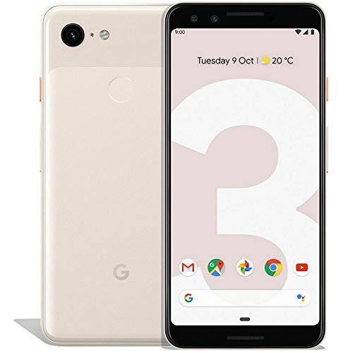 Google Pixel 3 (64GB, 4GB RAM) 5.5 QHD+, IP68 Water Resistant, Snapdragon 845 GSM/CDMA Factory Unlocked (AT&T/T-Mobile/Verizon/Sprint) (Not Pink)