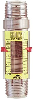 Hedland Flow Meters (Badger Meter Inc) H621-016 - Flow Rate Hydraulic Flow Meter - 16 gpm Max Flow Rate, 1 NPTF in Port Size