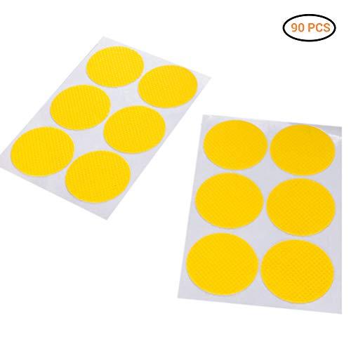 Daxoon Etiqueta Adhesiva Anti-Mosquitos, 20 Piezas, 120 Piezas, Repelente de Mosquitos, Anti-Mosquitos, naturalmente no tóxica para niños y Adultos