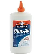 Elmer's E1321 Glue-All multifunctionele lijm, 473 ml, wit