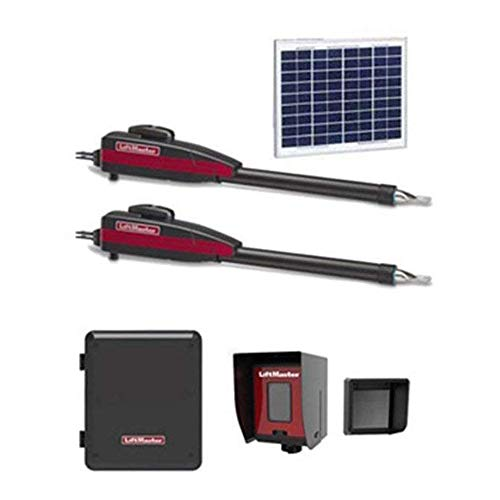 Liftmaster LA412PKGU Dual 12VDC Solar Residential Linear Actuator - Included Liftmaster 828LM Internet Gateway & Free RNT-230SADK Weatherproof Keypad Prox Reader 1000+ Users