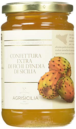 Agrisicilia AGR031 Confettura Extra di Fichi d'India di Sicilia - 360 g