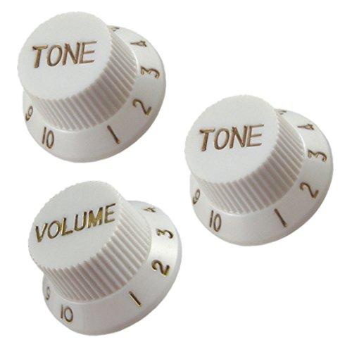 Botones De Control De Guitarras 1 Volumen 2 Tonos Para Guitarras Eléctricas...