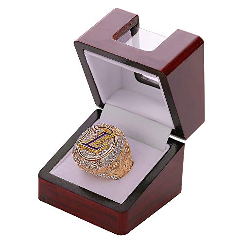 N\W Championship Ring Display Case Single Box Real Wood |Single Stand 1 Slot| Gift for Sports Fans