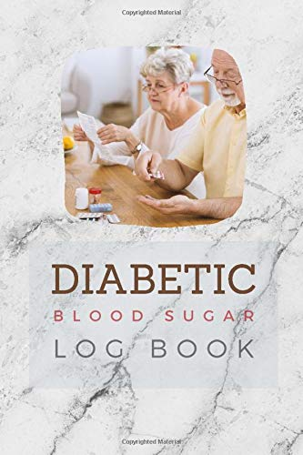 Diabetic Blood Sugar Log Book: Daily Blood Sugar Continuous Monitor Book | Tracking of your Blood Glucose Level and Record | Self Test Logbook Pocket ... | Medical Design (Control blood sugar book)