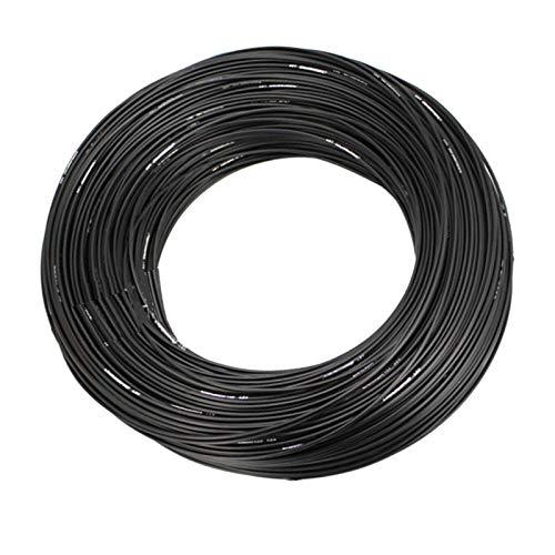 N/A/a Carcasa de Cable Negro para Bicicleta Carcasa Exterior de 10m Cables de tubería Cubierta Cubierta Cubierta Equipada con alambres de Acero de Alto - Cable de Freno