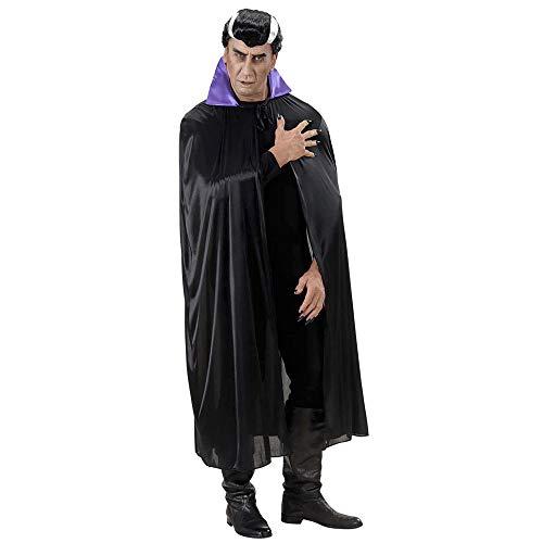 Widmann Cap avec cuello  Noir/Violet