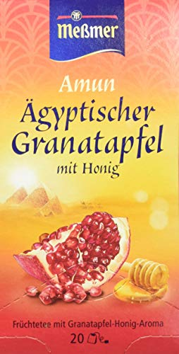 Meßmer Ägyptischer Amun, Granatapfel-Honig 20 Teebeutel, 50 g Packung