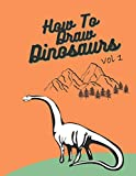 How To Draw Dinosaurs: Easy Step-By-Step Guide How To Draw Indominus rex,Gallimimus,.....