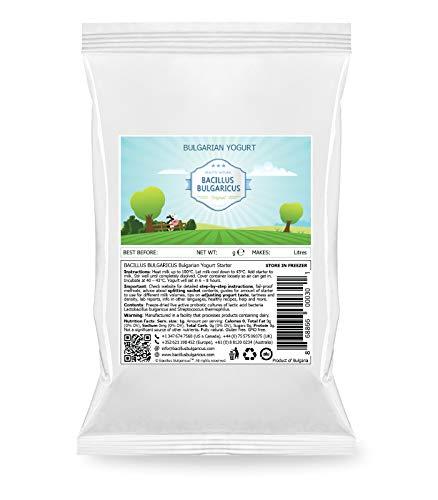 Bulgarischen Joghurt Starterkultur - Bulgarian Yoghurt Starter (PLUS - 2 Gal / 8 L)