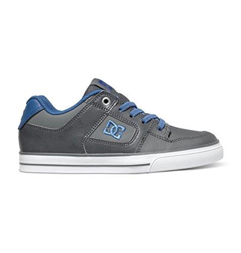 DC DC - Jungen rein elastischen Schuh, EUR: 27.5, Grey/Blue/Grey