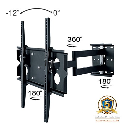 Allcam L273M Schwenkarm TV Universal-Wandhalterung für 40, 42, 47, 50 -Zoll-LCD/LED-Fernseher (New 2014)
