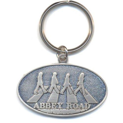 Beatles (The): Abbey Road Crossing (Portachiavi Metallo) Rock Merchand