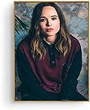Ellen Page Poster und Druck Wandkunst Bild Malerei Home