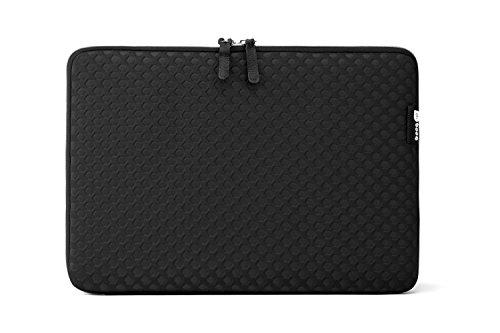 Booq TSP12-BLK Taipan Spacesuit 30.48 cm (12 Zoll) Laptop Hülle für Apple MacBook Schwarz