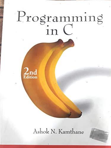 programming in c ashok m kanthane
