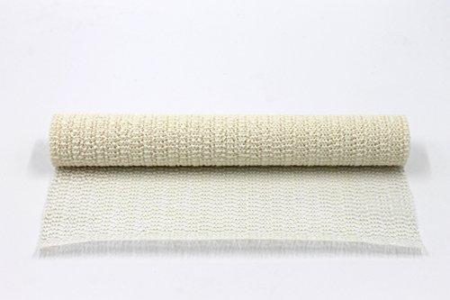 Anti-Rutsch-Matte Antischrutschmatte Antirutschläufer Rutsch Stop vers.Farben 150x30cm creme/weiß