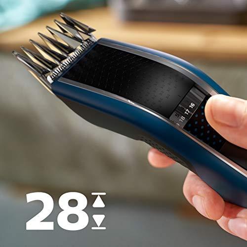 『フィリップス 5000シリーズ 電動バリカン 充電/交流式 ヘアーカッター・27段階調整(3-28㎜) ・丸洗い可・HC5612/17』の5枚目の画像