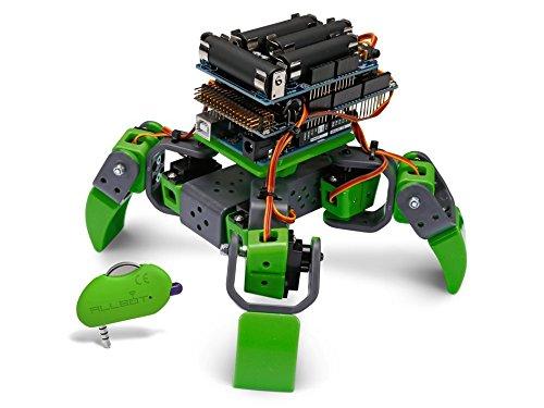 Velleman Vr204 Robot Dipede da Costruire Compatibile con Arduino