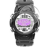 VacFun 3 Piezas Vidrio Templado Protector de Pantalla, compatible con LENOVO C2 Smart Watch SmartWatch, 9H Cristal Screen Protector Protectora Reloj Inteligente