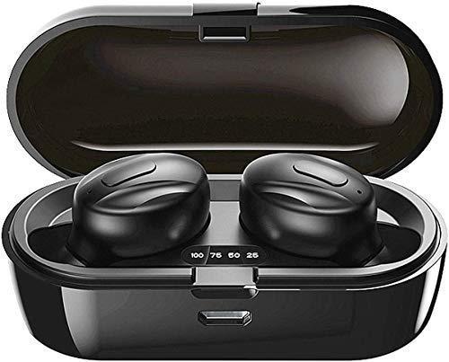 Bluetooth-Kopfhörer, Aclouddatee 2020 Bluetooth 5.0 Wireless-Kopfhörer Stereo-Soundmikrofon Mini-Wireless-Ohrhörer mit Kopfhörern und tragbarem Ladekoffer für iOS Android PC (A2-1)