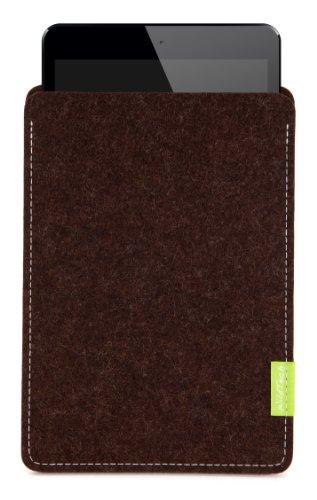 WildTech Sleeve für Medion LifeTab S8312 Hülle Tasche - 17 Farben (Made in Germany) - Trüffelbraun