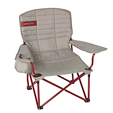 Kelty Lowdown Camp Chair - Tundra/Chili Pepper