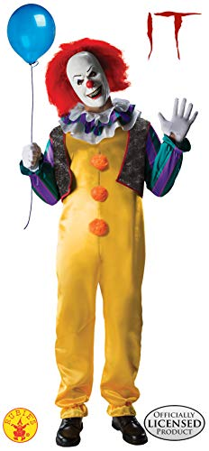 "Rubie's Costume da Pennywise il clown, da adulto, dal film ""it"", ufficiale"