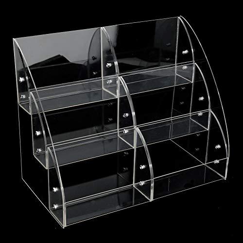 Organizador de acrílico práctico organizador de cosméticos, vitrina de acrílico, caja de...